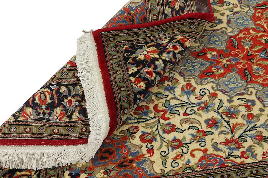 Blauw Perzisch Tapijt : Perzisch tapijt textuur abstract ornament ronde mandala patroon