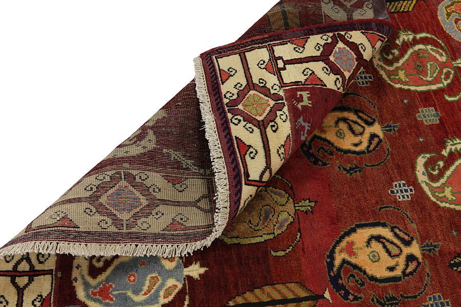 Mir Perzisch Tapijt : Vloerkleed mir mirzapur plain blauw van gils de wit sinds